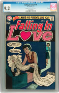 Bronze Age (1970-1979):Romance, Falling in Love #116 Savannah pedigree (DC, 1970) CGC NM- 9.2 Creamto off-white pages....