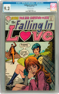 Bronze Age (1970-1979):Romance, Falling in Love #113 Savannah pedigree (DC, 1970) CGC NM- 9.2Off-white pages....