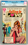 Bronze Age (1970-1979):Romance, Falling in Love #124 Savannah pedigree (DC, 1971) CGC NM 9.4Off-white pages....