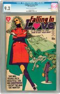 Bronze Age (1970-1979):Romance, Falling in Love #121 Savannah pedigree (DC, 1971) CGC NM- 9.2 Creamto off-white pages....