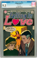 Bronze Age (1970-1979):Romance, Falling in Love #115 Savannah pedigree (DC, 1970) CGC NM- 9.2Off-white pages....