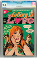 Bronze Age (1970-1979):Romance, Falling in Love #119 Savannah pedigree (DC, 1970) CGC NM 9.4Off-white pages....