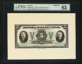 Canadian Currency: , Toronto, ON- Imperial Bank of Canada $5 Nov. 1, 1933 Ch.#375-20-02aFP Face Proof. ...