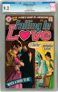 Bronze Age (1970-1979):Romance, Falling in Love #117 Savannah pedigree (DC, 1970) CGC NM- 9.2Off-white pages....