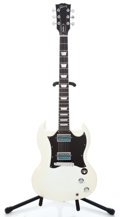 Musical Instruments:Electric Guitars, 2007 Gibson SG Goddess White Solid Body Electric Guitar#019870677...
