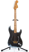 Musical Instruments:Electric Guitars, 1979 Fender Stratocaster Black Solid Body Electric Guitar#S939297...
