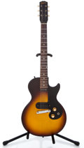 Musical Instruments:Electric Guitars, 1960 Gibson Melody Maker Sunburst Solid Body Electric Guitar#011550...