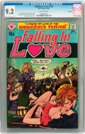 Bronze Age (1970-1979):Romance, Falling in Love #118 Savannah pedigree (DC, 1970) CGC NM- 9.2Off-white pages....