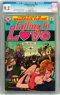 Falling in Love #118 Savannah pedigree (DC, 1970) CGC NM- 9.2 Off-white pages