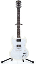 Musical Instruments:Electric Guitars, 2007 Gibson SG GOTW White Faded Solid Body Electric Guitar#011070530...