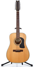 Musical Instruments:Acoustic Guitars, Recent Washburn D12S-12 Natural 12 String Acoustic Guitar#95070057...