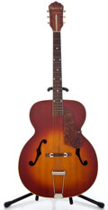 Musical Instruments:Acoustic Guitars, 1950's Kay Sherwood Cherry Burst Archtop Acoustic Guitar #242546...