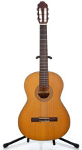 Musical Instruments:Acoustic Guitars, 1980's Aria AC-18 Natural Classical Guitar #84035...