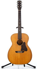 Musical Instruments:Acoustic Guitars, 1930's Washburn 5257 Natural Acoustic Guitar #505...