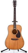 Musical Instruments:Acoustic Guitars, 1980's Sigma Martin Anniversary Natural Acoustic Guitar #506055...
