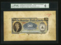 Canadian Currency: , Toronto, ON- The Sovereign Bank of Canada $20 May 1, 1906 Ch. #685-10-12 PFM & PBM Printer Front and Back Models. ... (Total:2 notes)