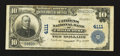 National Bank Notes:Missouri, Chillicothe, MO - $10 1902 Plain Back Fr. 626 The Citizens NB Ch. #4111. ...