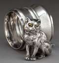 Silver Holloware, American:Napkin Rings, AN AMERICAN SILVER-PLATED FIGURAL NAPKIN RING . Attributed toRogers & Bro., Waterbury, Connecticut, circa 1875. Unmarked.2...