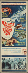 """Movie Posters:Adventure, Voyage to the Bottom of the Sea (20th Century Fox, 1961). Insert(14"""" X 36""""). Adventure.. ..."""