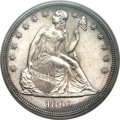 Seated Dollars, 1860 $1 MS64 PCGS....