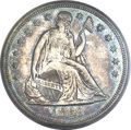 Proof Seated Dollars, 1868 $1 PR63 PCGS....
