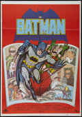 """Movie Posters:Action, Batman (20th Century Fox, R-1979). Spanish One Sheet (27.5"""" X 39.25""""). Action.. ..."""
