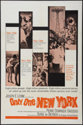 "Movie Posters:Documentary, Only One New York (Embassy, 1964). One Sheet (27"" X 41""). Documentary.. ..."