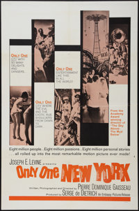"Only One New York (Embassy, 1964). One Sheet (27"" X 41""). Documentary"