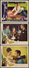 "Movie Posters:Mystery, Philo Vance's Gamble and Other Lot (PRC, 1947). Lobby Cards (9)(11"" X 14""). Mystery.. ... (Total: 9 Items)"