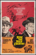 """Movie Posters:Western, Ride the High Country (MGM, 1962). One Sheet (27"""" X 41""""). Western.. ..."""