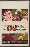 """Movie Posters:Comedy, The Nutty Professor (Paramount, 1963). Window Card (14"""" X 22""""). Comedy.. ..."""