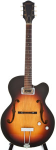 Musical Instruments:Electric Guitars, 1967 Gretsch Clipper Sunburst Archtop Electric Guitar, #37494....