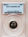 Proof Roosevelt Dimes, 2006-S 10C Clad PR69 Deep Cameo PCGS. PCGS Population (1534/396).Numismedia Wsl. Price for problem fre...