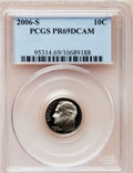 Proof Roosevelt Dimes, 2006-S 10C Clad PR69 Deep Cameo PCGS. PCGS Population (1563/402).Numismedia Wsl. Price for problem fr...