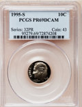 Proof Roosevelt Dimes: , 1995-S 10C Clad PR69 Deep Cameo PCGS. PCGS Population (2183/170).Numismedia Wsl. Price for problem fr...