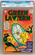 Silver Age (1956-1969):Superhero, Green Lantern #38 Twin Cities pedigree (DC, 1965) CGC NM/MT 9.8White pages....