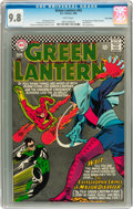 Silver Age (1956-1969):Superhero, Green Lantern #43 Twin Cities pedigree (DC, 1966) CGC NM/MT 9.8White pages....