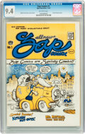 Silver Age (1956-1969):Alternative/Underground, Zap Comix #1 First Printing - Plymell Edition (Apex Novelties,1967) CGC NM 9.4 Off-white pages....