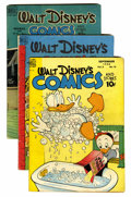 Golden Age (1938-1955):Cartoon Character, Walt Disney's Comics and Stories Group (Dell, 1948-59) Condition:Average VG.... (Total: 9 Comic Books)