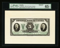 Canadian Currency: , Toronto, ON- Imperial Bank of Canada $5 Nov. 1, 1933 Ch. #375-20-02aFP Face Proof. ...
