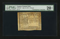 Colonial Notes:Virginia, Virginia July 11, 1771 £5 Contemporary Counterfeit PMG Very Fine 20 Net.. ...