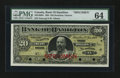 Canadian Currency: , Hamilton, ON- Bank of Hamilton $20 Jan. 2, 1904 Ch. # 345-18-06SSpecimen. ...
