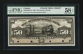Canadian Currency: , Toronto, ON- The Metropolitan Bank $50 Nov. 5, 1902 Ch. #485-10-20FPct Face Proof Color Trial. ...