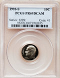 Proof Roosevelt Dimes: , 1993-S 10C Clad PR69 Deep Cameo PCGS. PCGS Population (2125/204).Numismedia Wsl. Price for problem fr...
