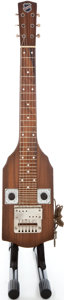 Musical Instruments:Lap Steel Guitars, 1940's National Walnut Lap Steel Guitar ...