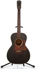 Musical Instruments:Acoustic Guitars, 1930's Gibson L-00 Sunburst Acoustic Guitar #262...
