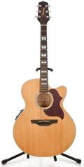 Musical Instruments:Acoustic Guitars, Recent Takamine EG523SC Natural Acoustic Electric Guitar#3421710...