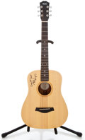 Musical Instruments:Acoustic Guitars, 1998 Taylor 301 Baby Natural Acoustic Guitar #980917303-2...