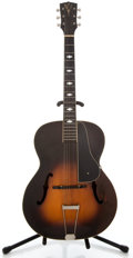 Musical Instruments:Acoustic Guitars, 1930's Vega C Sunburst Archtop Acoustic Guitar #38500...