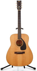 Musical Instruments:Acoustic Guitars, 1970's Yamaha FG-140 Natural Acoustic Guitar #1239525...